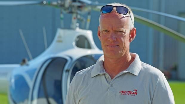 Aviation Training flight instructor Shamus Howard