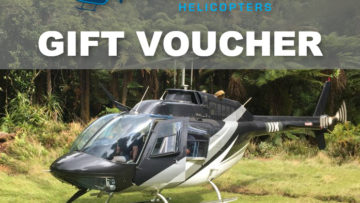 UFLY Gift Voucher - 30 Min Jet Ranger (5 Seater) Helicopter Trial Flight