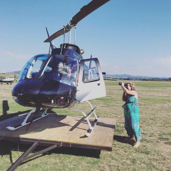 Wedding helicopter charter