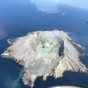 White Island Helicopter Flight