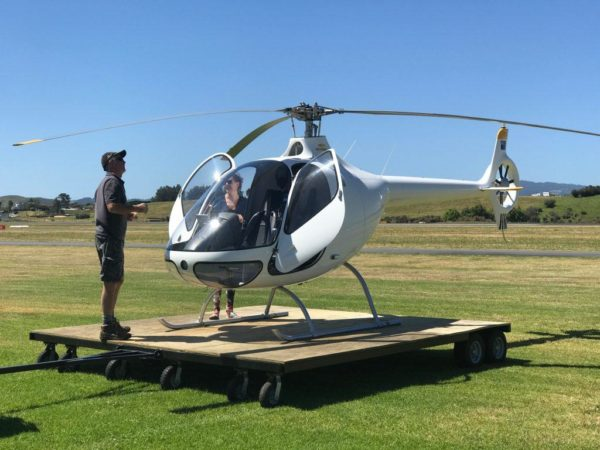 Helicopter Trial Flights