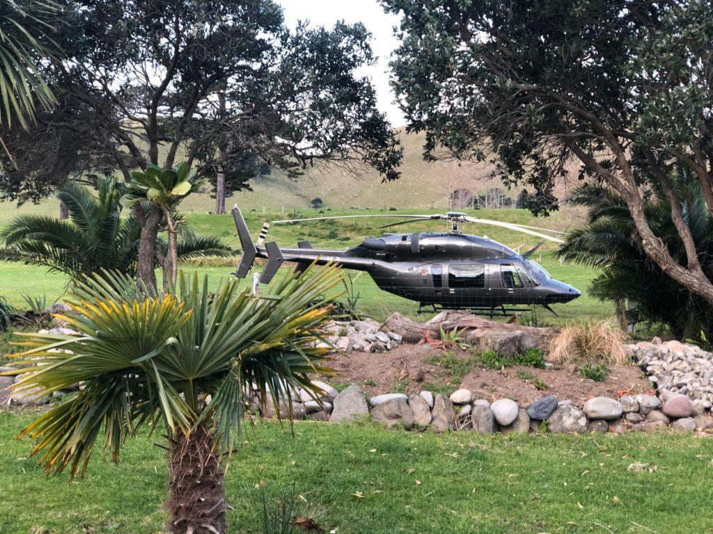 Bell 427 Scenic Flights Tauranga