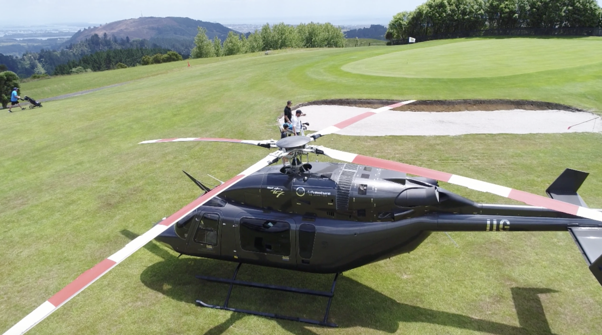 Helicopter Golf Pacakage